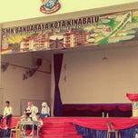 Photo taken at SMK Bandaraya (SMK Menggatal) by rodey a. on 3/20/2014