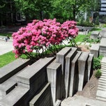 Photo taken at Jim Ellis Freeway Park by Dmitriy Z. on 5/20/2013