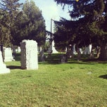 Photo taken at Mount Olivet Cemetery by Beth H. on 9/14/2014
