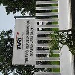 Photo taken at TVRI Jawa Barat & Banten by GilanG on 5/20/2014