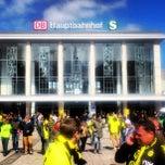 Photo taken at Dortmund Hauptbahnhof by Edwin Nicolaas A. on 4/20/2013