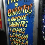 Photo taken at El Ranchito Taco Truck by Hector C. on 12/5/2012