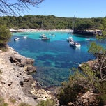 Photo taken at Cala Turqueta by Alessandro G. on 7/31/2013