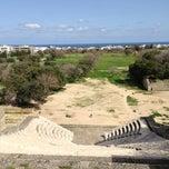 Photo taken at Αρχαιο Σταδιο - Hellenistic Stadium by Irene on 3/19/2013