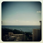 Photo taken at Hyatt Place Waikiki Beach by May M. on 11/11/2012