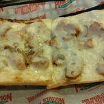 Photo taken at Penn Station East Coast Subs by Melinda K. on 11/4/2012