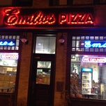 Photo taken at Emilio's Pizza and Sub Shop by Chris S. on 10/29/2012