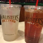 Photo taken at McAlister's Deli by Jessica W. on 2/10/2013