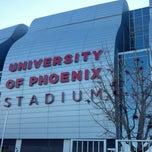 Photo taken at University of Phoenix Stadium by Larry M. on 1/3/2013