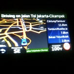 Photo taken at Jalan Tol Jakarta - Cikampek by Fenty R. on 11/13/2012