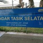 Photo taken at KTM Komuter Bandar Tasik Selatan (KB04) Station by Edwin E. on 2/23/2013