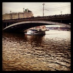 Photo taken at Большой Каменный мост / Bolshoy Kamenny Bridge by Katja on 4/27/2013