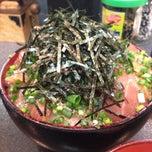 Photo taken at 魚料理のじま by Mizuto K. on 5/17/2013