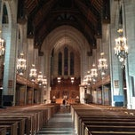 Photo taken at Fourth Presbyterian Church by Joni B. on 11/17/2012