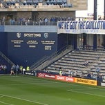 Photo taken at Sporting Park by Tony R. on 3/30/2013