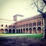 Photo taken at Castello Visconteo by Flaminia P. on 4/7/2014