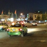 Photo taken at Waha Circle | دوار الواحة by Hanadi 1. on 10/30/2012