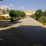 Photo taken at Αρσάκεια Σχολεία Ψυχικού by Eri T on 10/5/2012