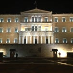 Photo taken at Πλατεία Συντάγματος (Syntagma Square) by Hélder D. on 3/14/2013