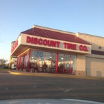 Photo taken at Discount Tire® Store by Ash A. on 8/29/2013