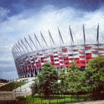 Photo taken at Stadion Narodowy by Krzysztof on 7/25/2013