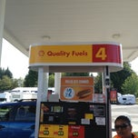 Photo taken at Shell by CHENERY17 on 9/3/2013