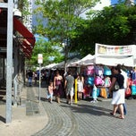 Photo taken at South Bank Lifestyle Market by Amit P. on 4/1/2012