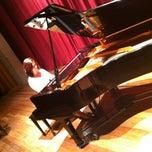 Photo taken at Teatro Escola Basileu França by Mila N. on 10/4/2012