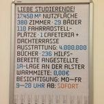 Das Foto wurde bei ZBW - Leibniz-Informationszentrum Wirtschaft Hamburg von katwid 💄👼👜 am 5/6/2013 aufgenommen