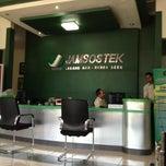 Photo taken at Jamsostek Office by fachri on 1/15/2014