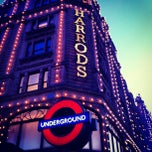 Photo taken at Harrods by Jordan J. on 3/2/2013