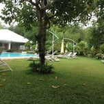 Photo taken at Jamont Pool Area by Jay Mark on 11/5/2013