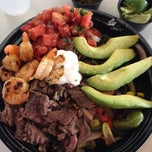 Photo taken at Baja Fresh by Francisca F. on 3/21/2014
