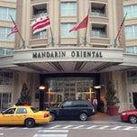 Photo taken at Mandarin Oriental, Washington DC by A.A on 1/17/2013