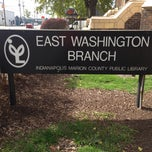 Photo taken at Indianapolis Marion County Public Library - East Washington Branch by Stuart W. on 11/1/2013