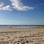 Photo taken at Coolangatta Beach by Pavla C. on 5/27/2013