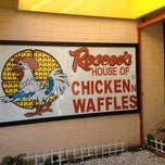 Photo taken at Roscoe's House of Chicken and Waffles by Michelle R. on 11/23/2012