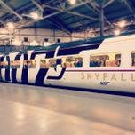 Photo taken at Platform 8 by Ben D. on 2/28/2013