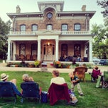 Photo taken at Orchard Lawn Mineral Point Historical Society by Leah C. on 9/15/2012