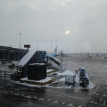 Photo taken at Gate B18 by Patricio on 1/15/2013