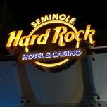 Photo taken at Seminole Hard Rock Hotel & Casino by Dyno on 5/2/2013