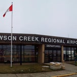 Photo taken at Dawson Creek Airport (YDQ) by Jay D. on 11/5/2014