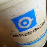 Photo taken at Cafe Punta del Cielo by Daniel L. on 10/21/2012