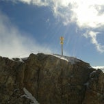 Photo taken at Zugspitze [2.962 m] by Jaffe Joffer K. on 5/18/2013