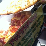 Photo taken at Pizza Schmizza - Hillsboro Airport by Jenny on 3/8/2013