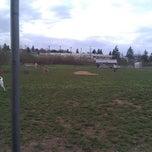 Photo taken at Potso Dog Park by Jesse M. on 4/10/2011