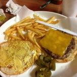 Photo taken at Burger Tex by Sylvia on 1/28/2013
