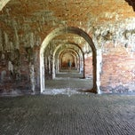 Photo taken at Fort Morgan State Historic Site by Joel on 3/15/2013