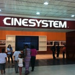 Photo taken at Cinesystem by Fabricio on 6/14/2013
