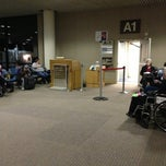 Photo taken at Gate A1 by Greg R. on 12/27/2012